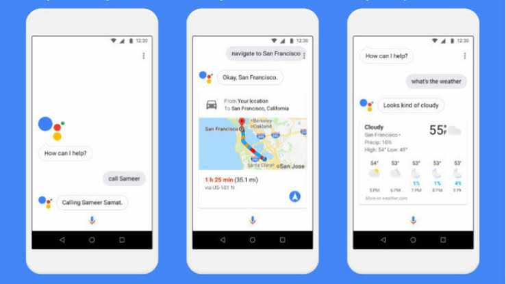 Google Assistant Google Search Google Feed