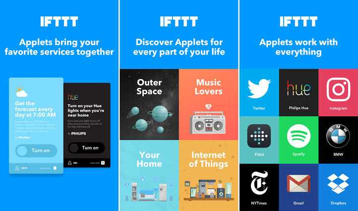 Ifttt android application for everything
