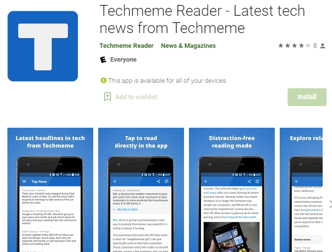 techmeme technology updates and trends app