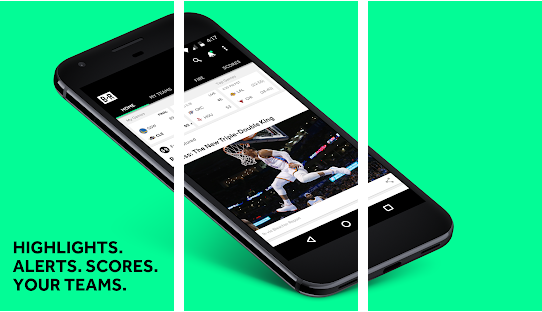 Top 10 android sports news application