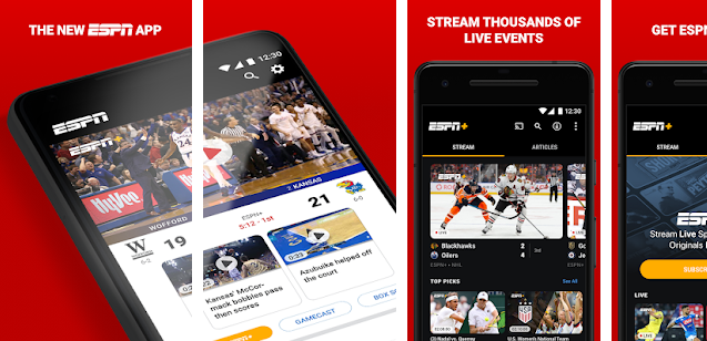 top 10 android sport apllication
