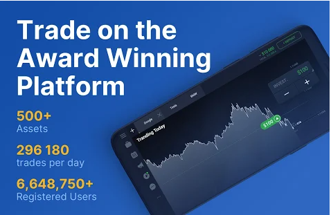 iq option trading application for earn money from online at home