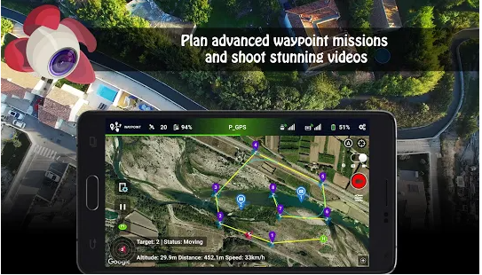 litchi top 10 best drone app for android and ios device