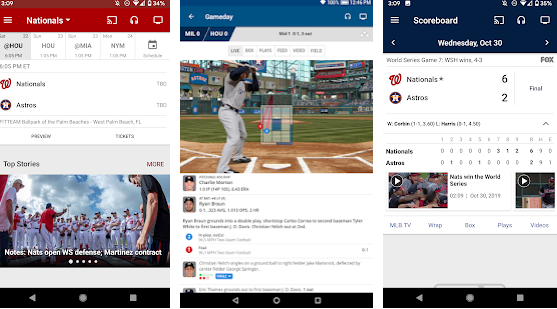 top 10 android sports application