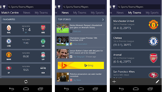 Top 10 best android sport application