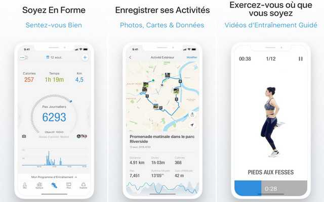 pacer iphone application for health 2021
