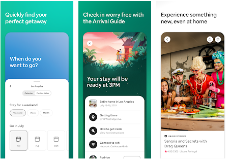 Airbnb best Android apps for booking hotels