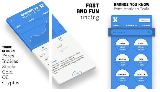 BUX X best stock market stimulator application for android