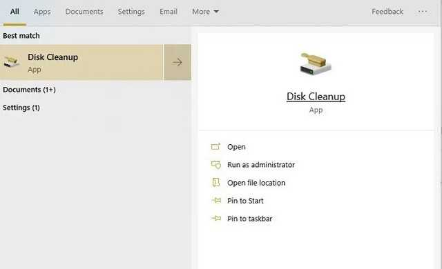 Disk clean up app for pc disk clean up