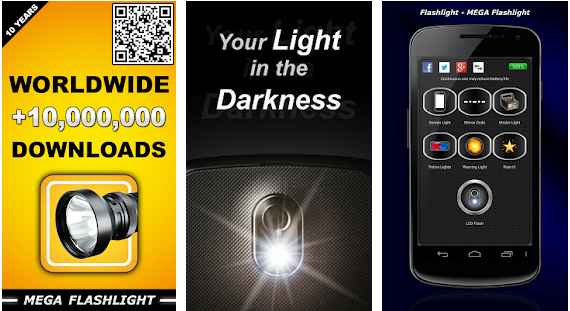 Flashlight by Ruddy Rooster best hd flashlight application for android
