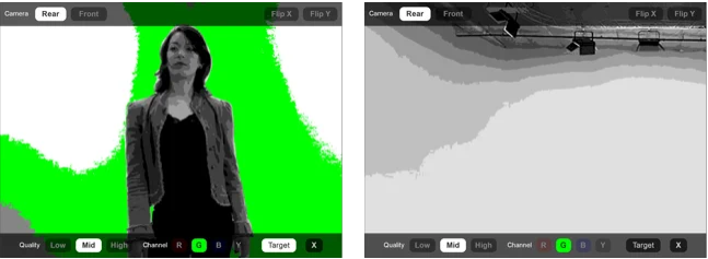 Green Screener application for making movie from iphone
