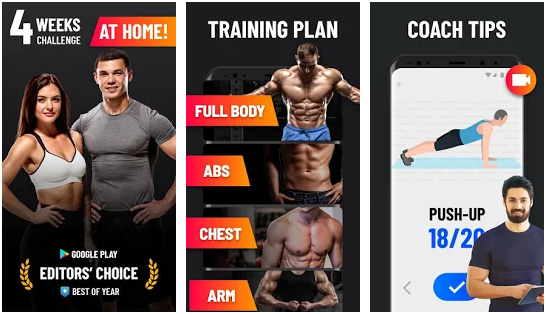 Home exercises best bodybuilding apps for Android