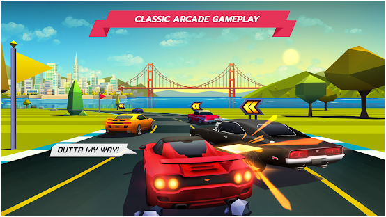Horizon chase best gaming racing application for android and ios