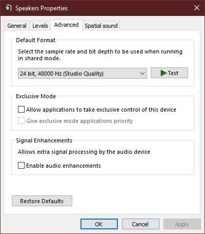 How to fix YouTube audio issues in Windows 10