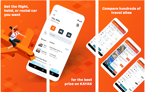 KAYAK best Android apps for booking hotels