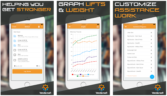 Powerlifter best bodybuilding apps for Android
