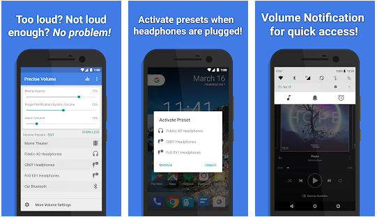 Precise Volume best apps to increase volume on Android