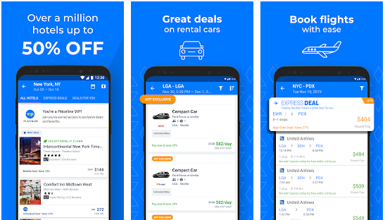 Priceline 10 best Android apps for booking hotels