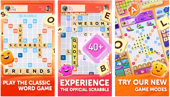 Scrabble Go Wold Game Apps for Android and iOS