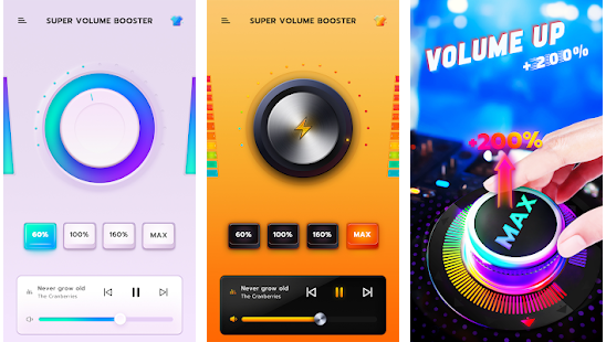 Super max volume booster Best App increase volume on Android