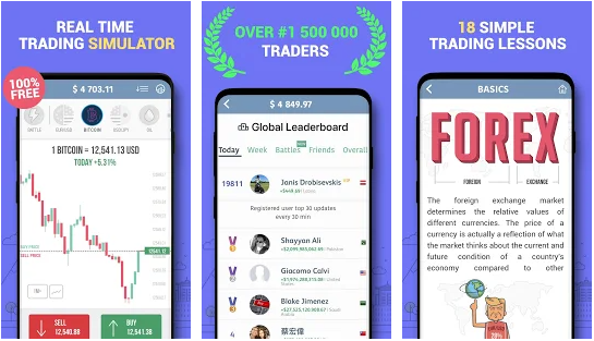 Trading game best stock market stimulator app for android