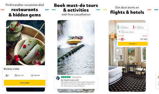 Tripadvisor Airbnb best Android apps for booking hotels
