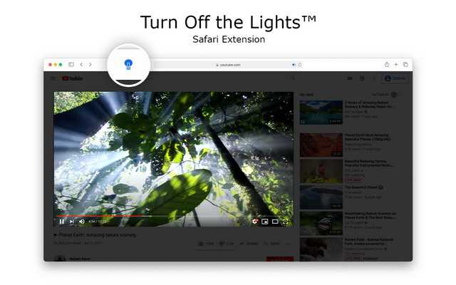 Turn of the light best safari extension for mac