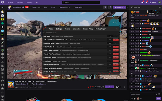 better ttv best chorme extension for twitch users