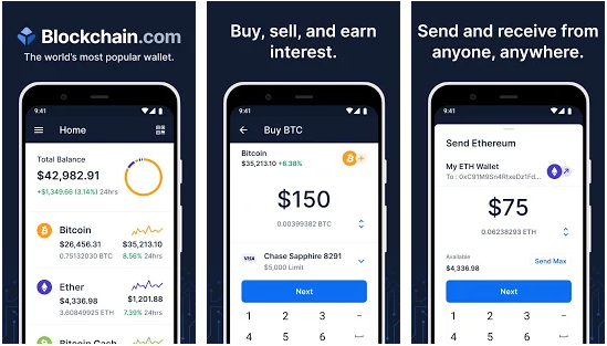 blockchain best bitcoin wallet for android apps