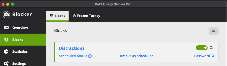cold turkey best site blocker application for android and ios