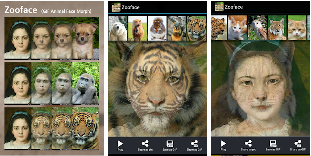 face morph animal face application for best photo morphing apps for android