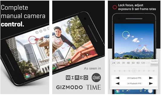 flimic pro best movie making application for iphone and android