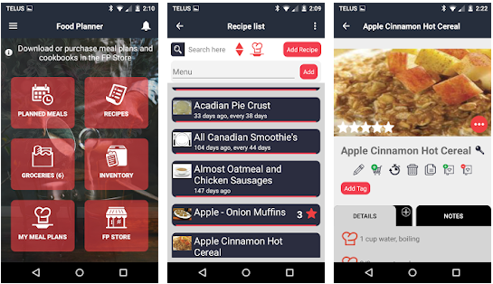 food planner best meal planning application for android