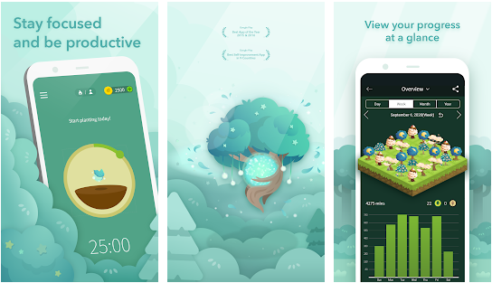 forest best site blocker application for android and ios