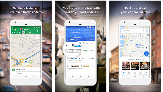 google map best road trip apps for Android in 2021