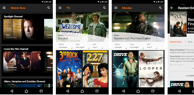 best movies streaming application for android