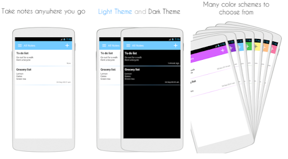 keep my notes best android writer application