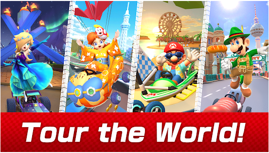 mario kart tour best racing game application for android and ios