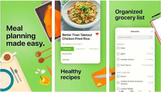 mealime best meal planning application for android