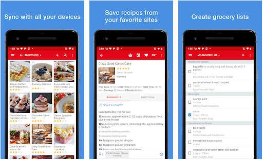 paprika best meal planning application for android