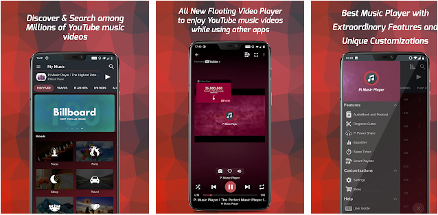 pi music player best wallpaper and ringtone application for android