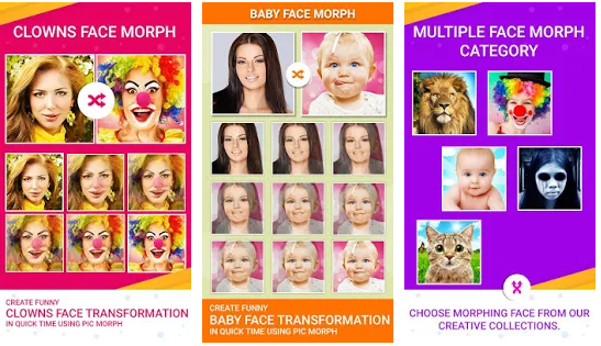 pic morph morph faces for best photo morphing application for android
