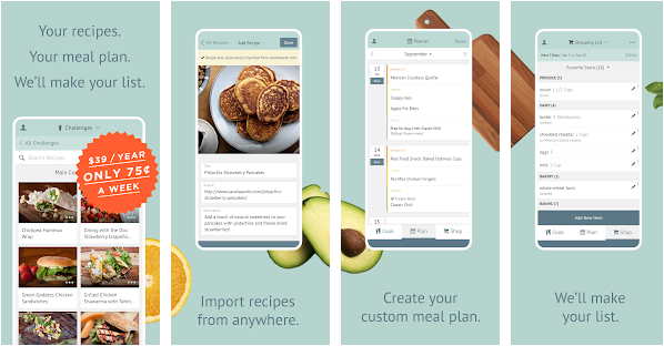 plan to eat best meal planning application for android