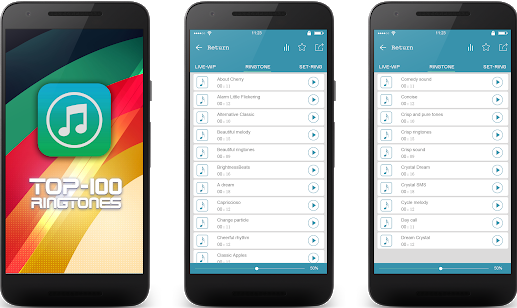 ringtone top 100 best wallpaper and ringtone application for android