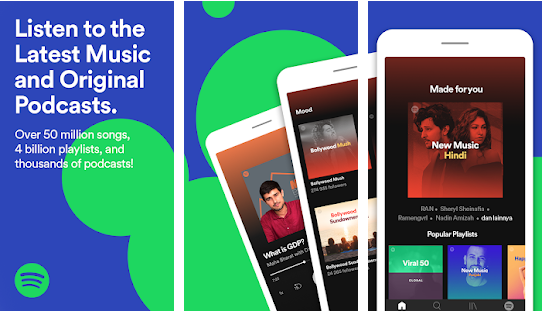spotify music app for apple phone