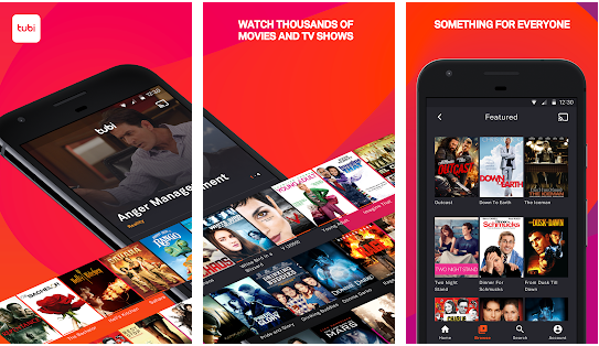 tubi Tv best movie streaming application for android