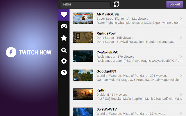 twitch now best chrome extension for twitch user