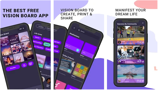 visualize best vision board application for android