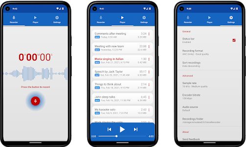 voice recorder best call recorder application for android