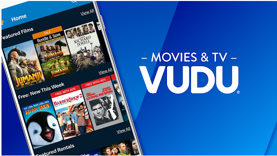 vudu tv best movie streaming application for android